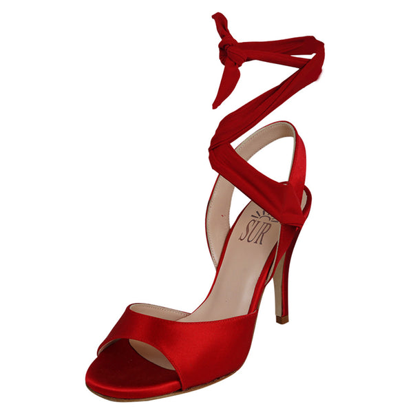 """Paloma"" model with ankle ties by SUR"