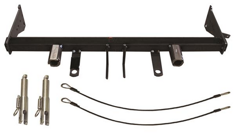 Baseplate with Standard Tabs and Safety Cable Hooks #BX1118