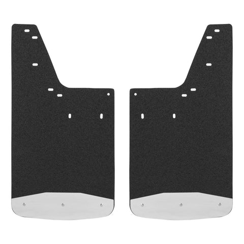 "Front or Rear 12"" X 23"" Textured Rubber Mud Guards #250233"