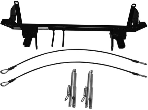 Baseplate with Removable Tabs and Safety Cable Hooks #BX2628