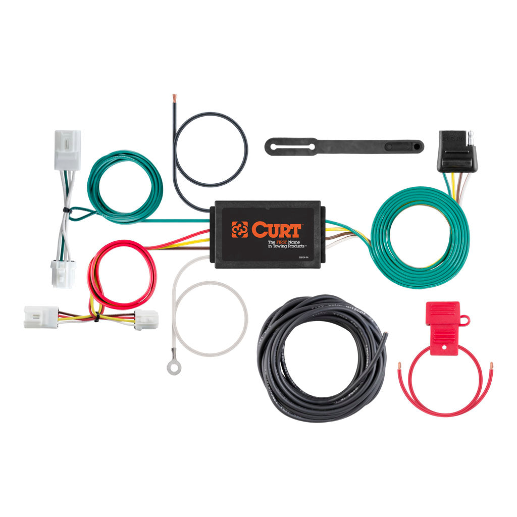custom wiring harness 4 way flat output 56033 discount hitch rh discounthitches com Automotive Toggle Switches Automotive Wire Suppliers