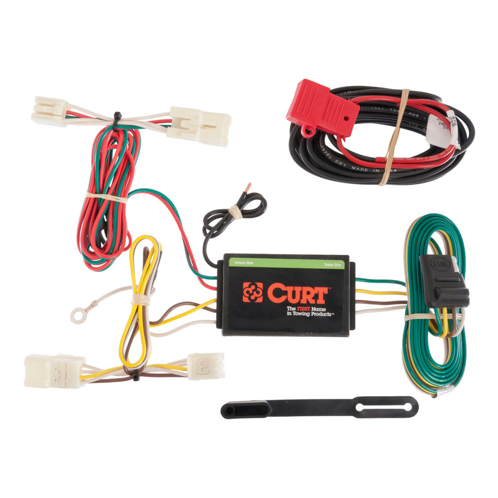custom wiring harness 4 way flat output 56165 discount hitch rh discounthitches com Automotive Toggle Switches Switch Car