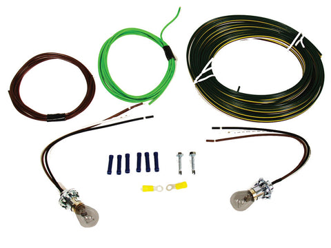 Bulb and Socket Tail Light Wiring Kit #BX8869