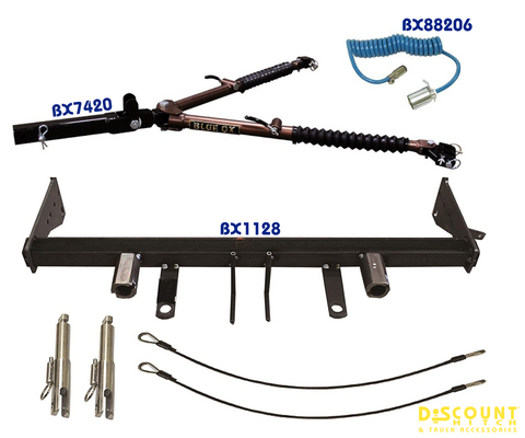 Blue Ox Avail™ Tow Bar & Baseplate Bundle for Jeep Grand Cherokee