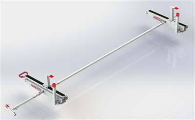 Ladder Rack EZ Glide 2 For Use With EZ Glide 2 Drop Down Ladder Rack To Load Ladders on The Driver Side Of Vehicle #2295-3-01