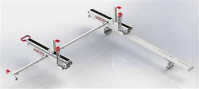 Ladder Rack EZ Glide 2 For Use With EZ Glide 2 Drop Down Ladder Rack To Load Ladders on The Driver Side Of Vehicle #2297-3-01