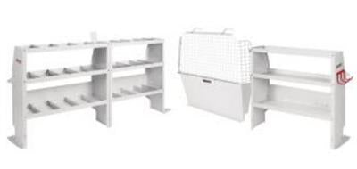 Van Storage System Kit Commercial Shelving Package #600-8350