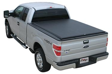 Tonneau Cover Edge Soft Roll-Up Hook And Loop Lockable Using Tailgate Handle Lock #845701