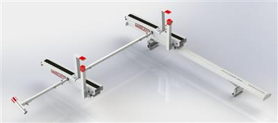 Ladder Rack EZ Glide 2 For Use With EZ Glide 2 Drop Down Ladder Rack To Load Ladders on The Driver Side Of Vehicle #2277-3-01