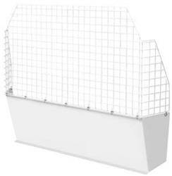 Bulkhead Divider Full Bulkhead With Mesh Window With Mounting Hardware #96113-3-01