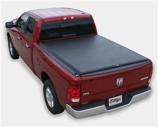 Tonneau Cover Edge Soft Roll-Up Hook And Loop Lockable Using Tailgate Handle Lock #809001