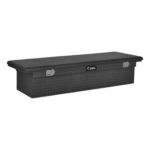 "Matte Black Aluminum 69"" Truck Tool Box with Low Profile (Heavy Packaging) #EC10473"