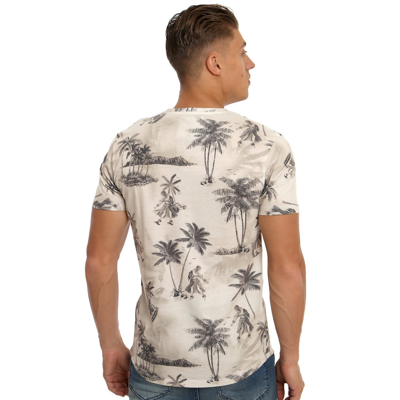Gifted Heroes Honolulu Vintage Men's T Shirt - T Shirts Mens - Giftedheroes