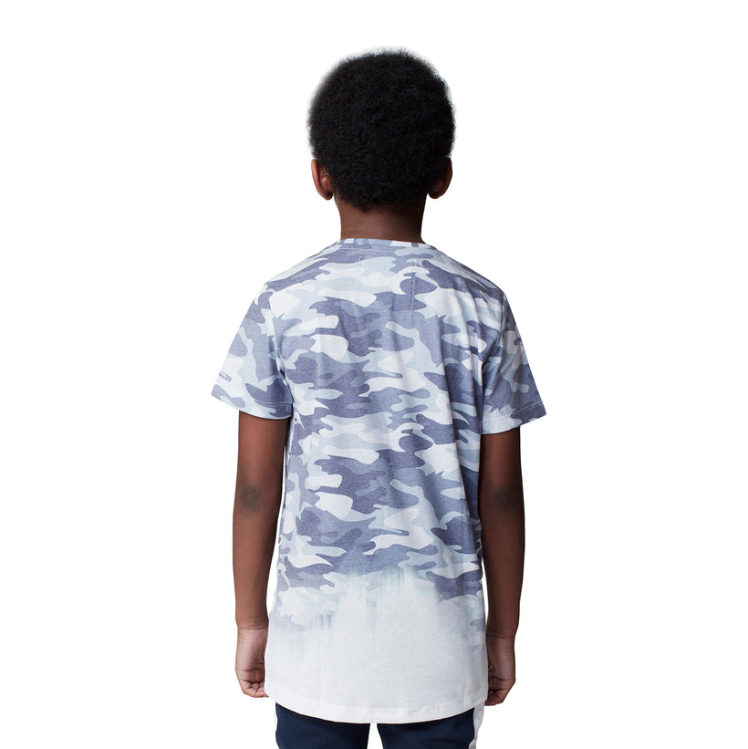 Gifted Heroes Camo Fade Boy's Tee – NEW Collection