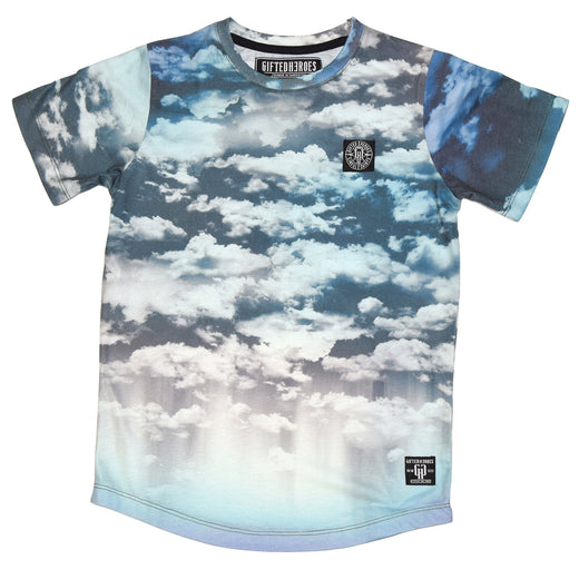 Gifted Heroes Clouds Boy's Tee - GiftedHeroes