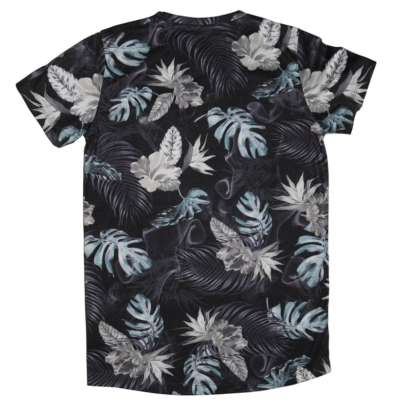 Gifted Heroes Tropic Haze Floral Boy's Tee