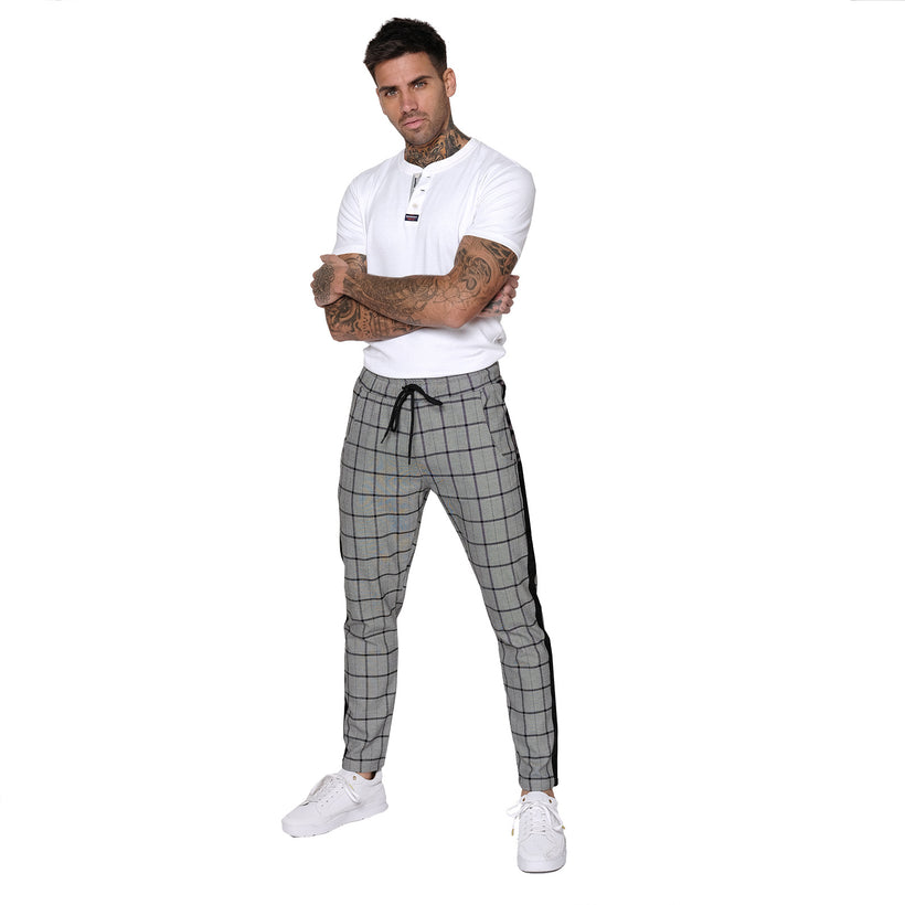 Gifted Heroes WINDOW CHECK Mens Woven Jogger - Bottoms - Giftedheroes