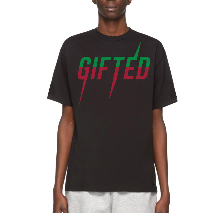Gifted Heroes 'GHMock_Logo' Black Men's T Shirt - T Shirts Mens - Giftedheroes