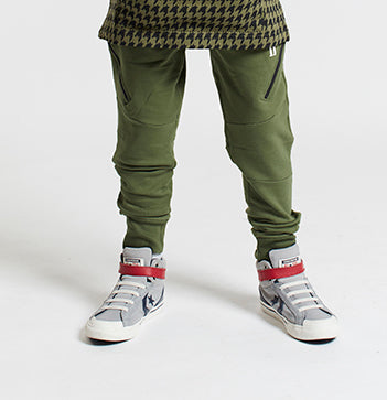 Gifted Heroes ASENCION Boys Jogger OLIVE - Bottoms Boys - Giftedheroes