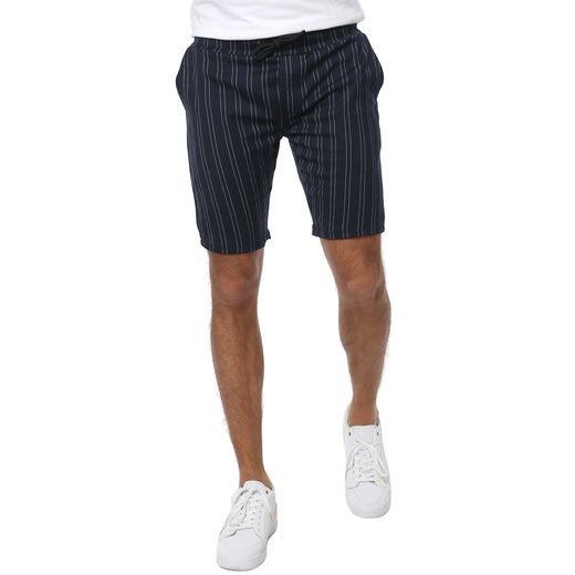 Gifted Heroes HEATH Mens Navy Woven Shorts - Bottoms - Giftedheroes
