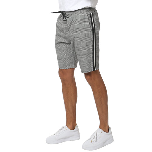 Gifted Heroes CHARLES Tape Mens Woven Shorts - Bottoms - Giftedheroes