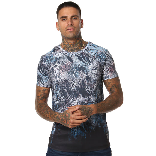 Gifted Heroes 'Animal Instinct' All Over Men's T Shirt - GiftedHeroes