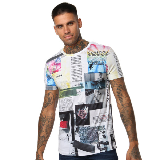 Gifted 'Chaotic Disorder' All Over Men's T Shirt - T Shirts Mens - Giftedheroes