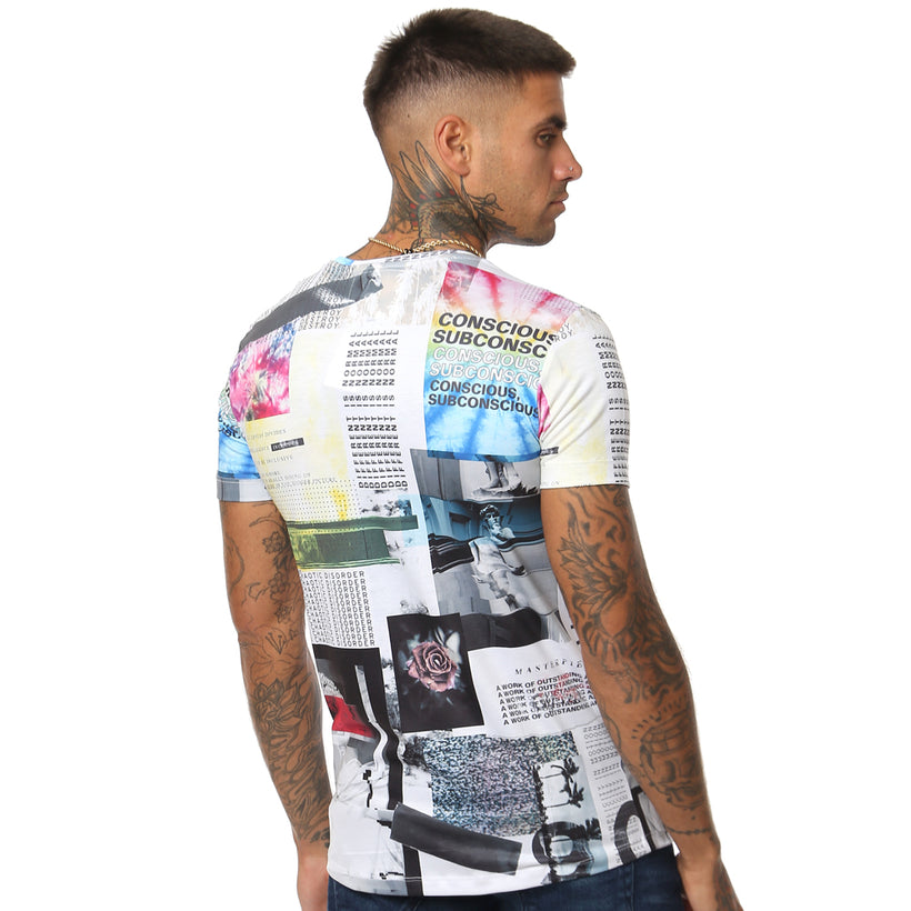 Gifted 'Chaotic Disorder' All Over Men's T Shirt - GiftedHeroes