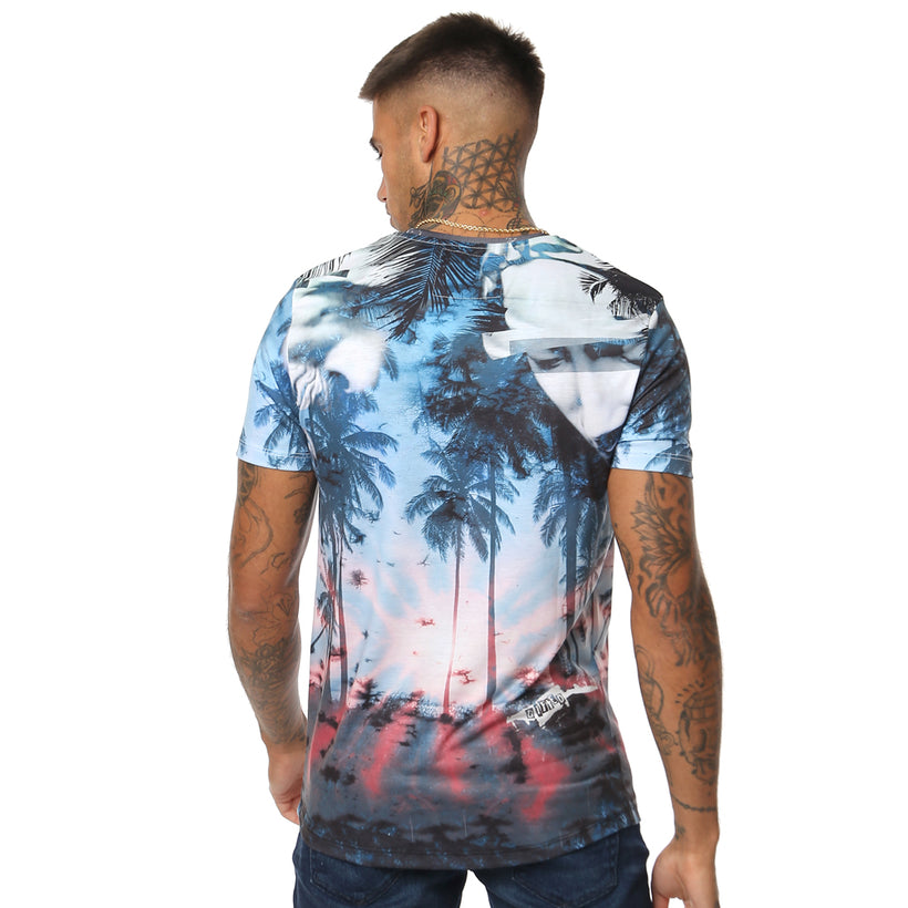 Gifted Heroes 'Sunset Gods' All Over Men's T Shirt - GiftedHeroes