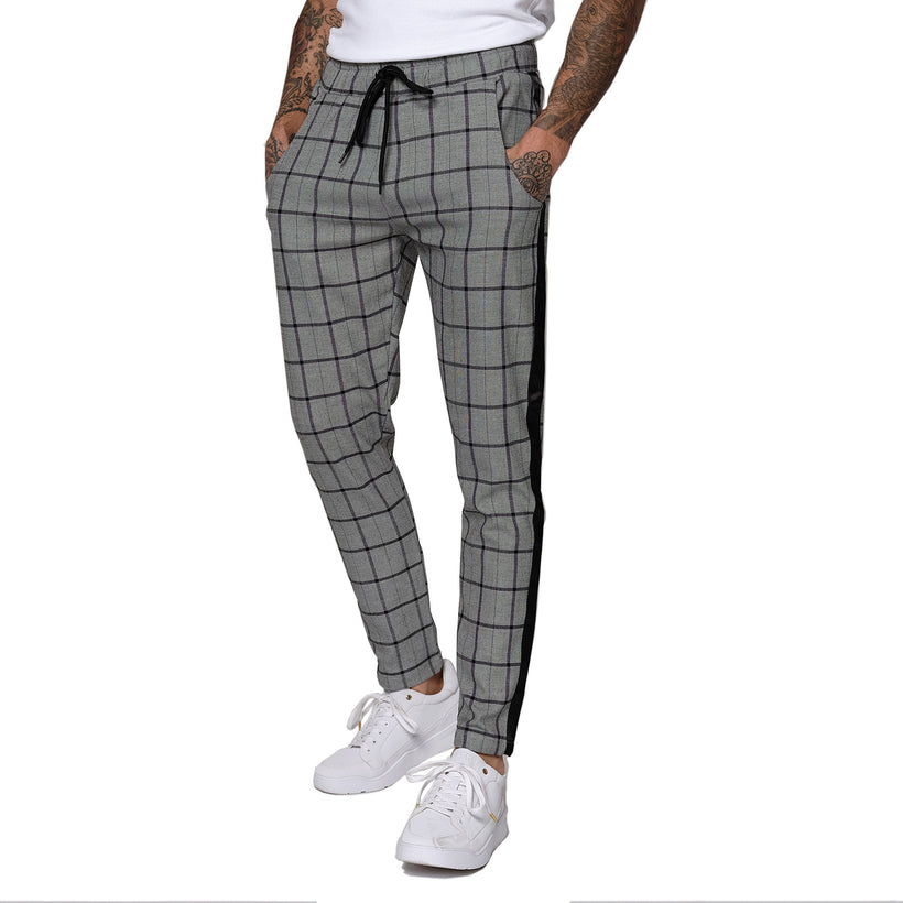 Gifted Heroes WINDOW CHECK Mens Woven Jogger - GiftedHeroes