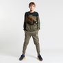 Gifted Heroes Retro Boy's Sweat Olive - Sweats Boys - Giftedheroes