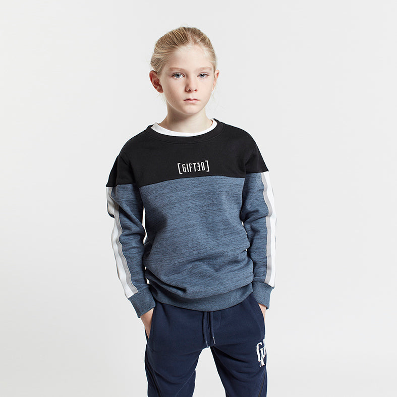 Gifted Heroes Retro Boy's Sweat BLUE