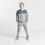 Gifted Heroes Retro Boy's Sweat GREY Marl - GiftedHeroes