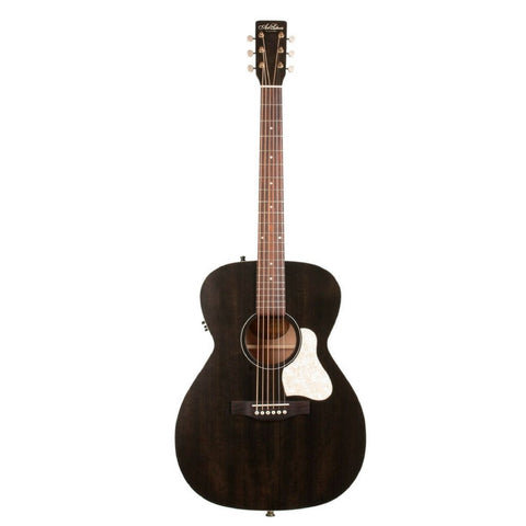 Art and Lutherie Legacy Concert Hall Acoustic Guitar With Faded Black Finish Display Image