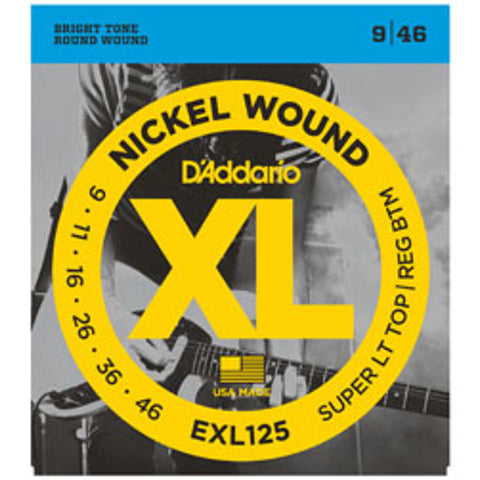 D'Addario EXL125 Electric Guitar Strings