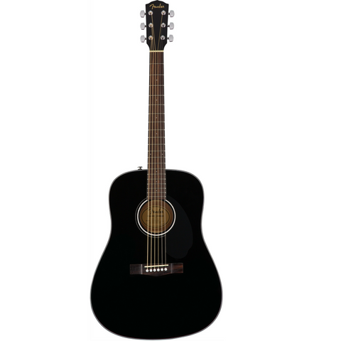 Fender CD-60S Acoustic Guitar Black