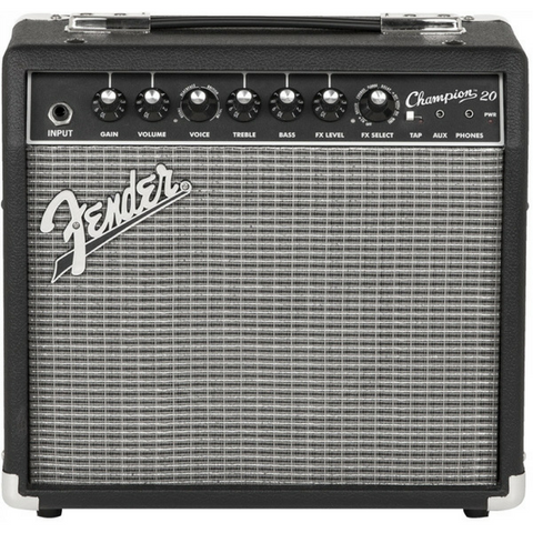 Fender Champion 20 Electric Guitar Amp Display Photo