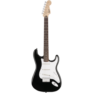 Fender Squier Bullet Stratocaster HT Electric Guitar Black Display Photo