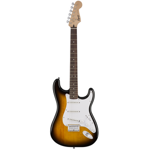 Fender Squier Bullet Stratocaster HT Electric Guitar Brown Sunburst