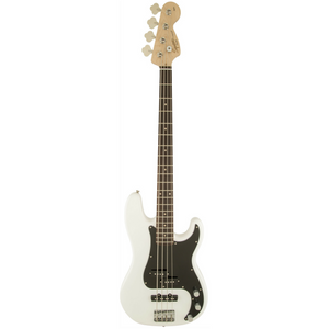 Fender Squier Affinity Series Precision Electric Bass Guitar White Display Photo