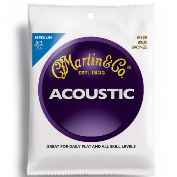Martin M150 80/20 Bronze Acoustic Guitar Strings