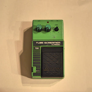 Used Ibanez Tube Screamer TS-10 Tube Overdrive Guitar Effects Pedal