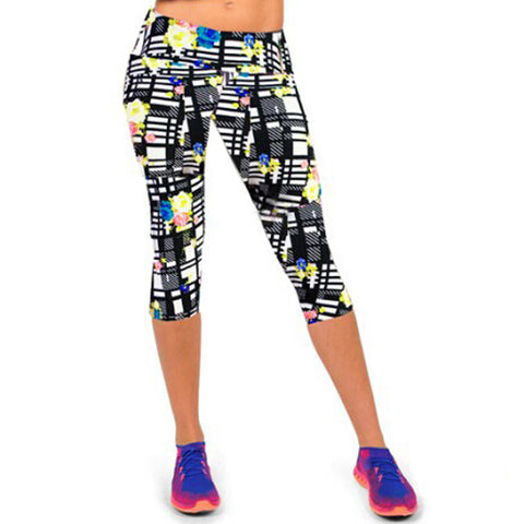 LT Active Pants Black Print#2