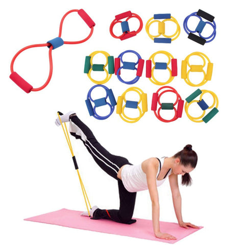YS Resistance Bands 8 Type