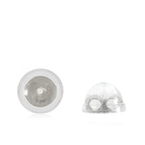 Universal-EZback-Earring-Backs-Soft-Clear-Silicone-and-Sterling-Silver-Small-2-Pairs