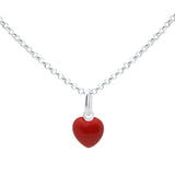 Unicornj-Sterling-Silver-Childrens-Pendant-with-Red-Heart-Charm