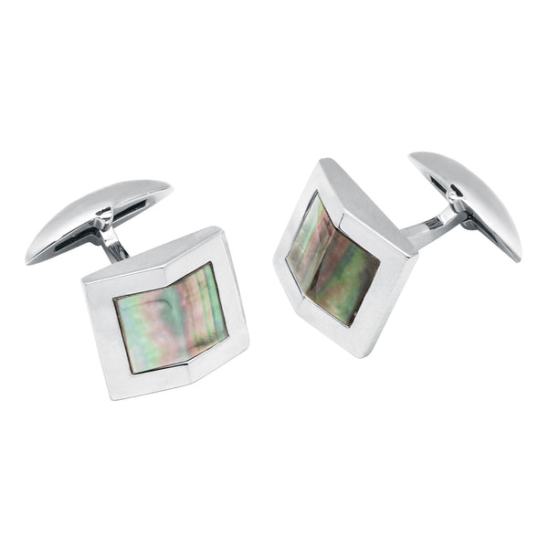 Zsamuel-Mens-Sterling-Silver-Black-Mother-of-Pearl-Gable-Design-Cufflinks
