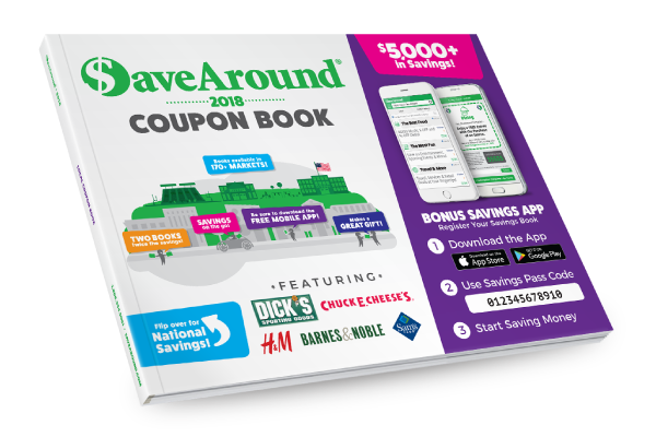 Coupon Book Fundraising | Printable Coupons online | SaveAround