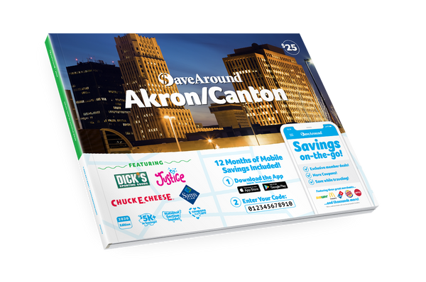 Akron/Canton, OH 2020 SaveAround® Coupon Book