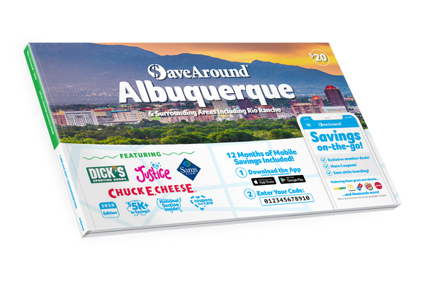 Albuquerque & Surrounding Areas, NM 2020 SaveAround® Coupon
